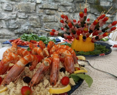 Catering a Castellabate nel Cilento